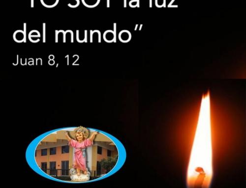 "REFLEXIÓN  ""YO SOY LA LUZ DEL MUNDO"". Jn 8,12  por Padre Arturo Pichardo Díaz"