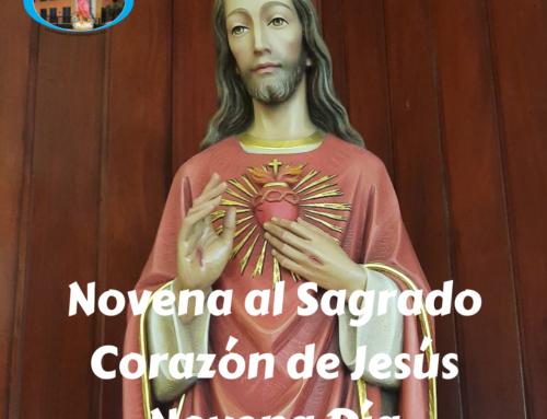 Novena al Sagrado Corazón de Jesús. – Noveno día -.